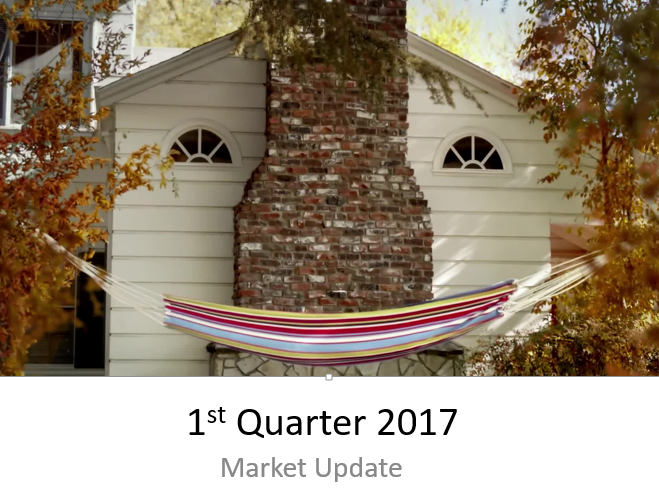 2017 1st Quarter Market Update | Coeur d'Alene Real Estate Snap Shot