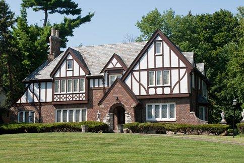 Tudor Revival Style Home