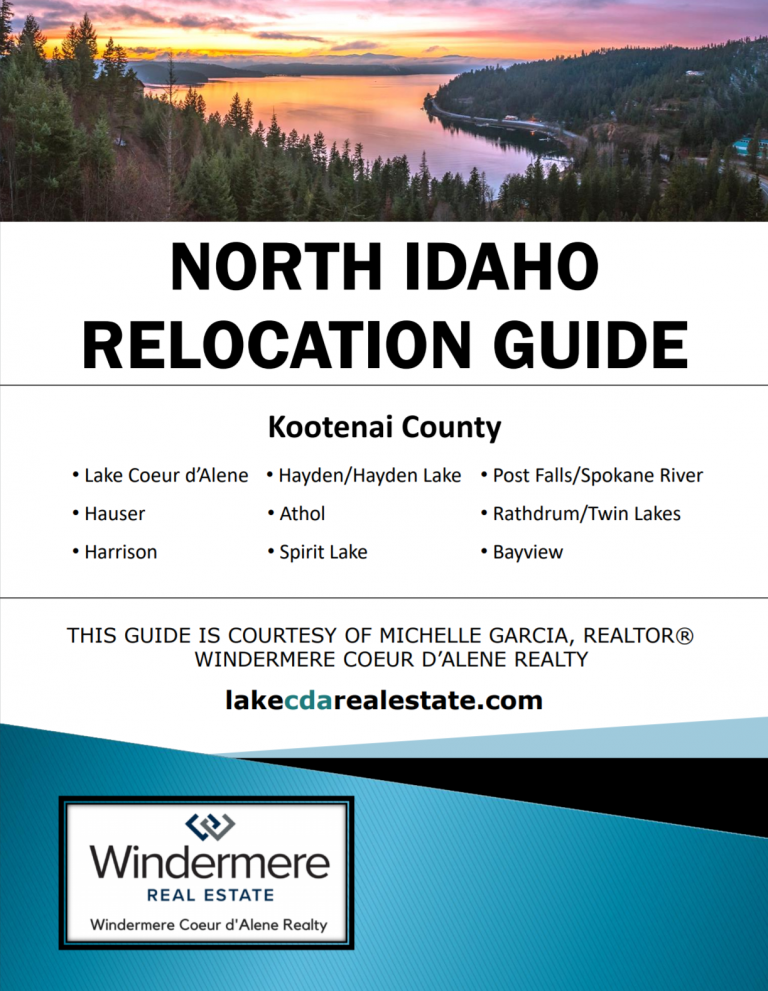 North Idaho Relocation Guide Michelle Garcia Lake CDA Real Estate