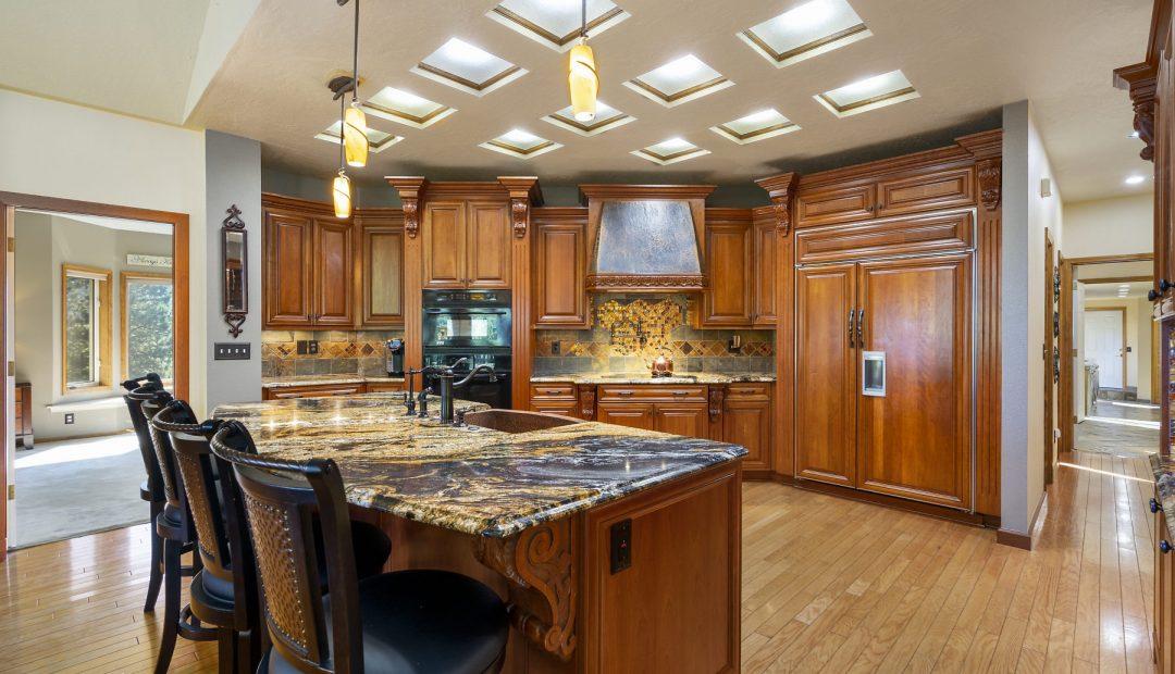 Deer Ridge Kitchen Post Falls Real Estate