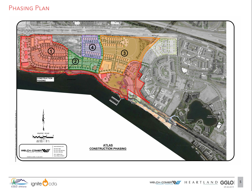Phasing Plan Atlas Waterfront Project