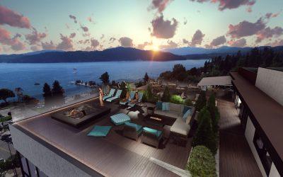 Coeur d'Alene's New Lakeside Hotel